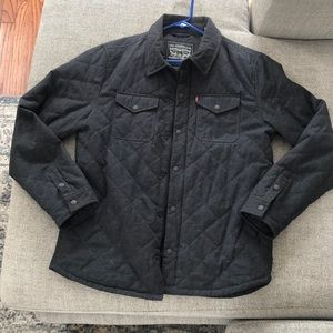 LEVI's Quilted Shirt Jacket